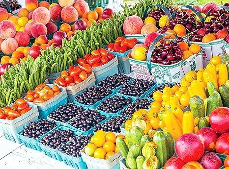 Farm Fresh Fruits & Produce, Ontario 1500 pc Colorluxe Puzzle