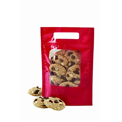 Wilton Red Foil Cookie Treat Tote Bags, 3 Count 60%OFF