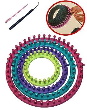 Tricotin circulaire Métier à tricoter en ABS 14 cm 19 cm 24 cm 29 cm  Ensemble 601e1c83737