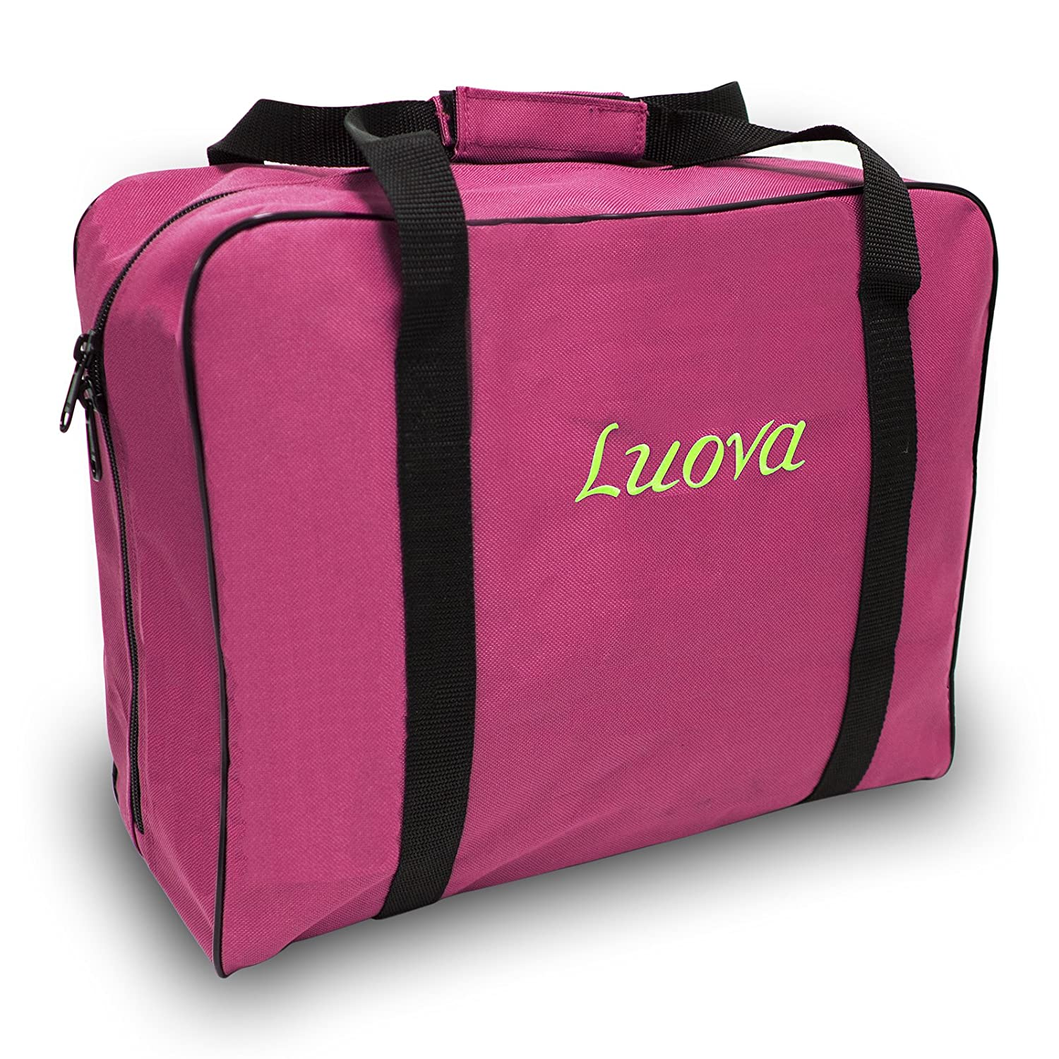 "Luova 14"" Sewing Tote For 3/4 Size Machines In Pink 4336998366"