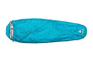 Kounga Roraima Saco de Dormir, Unisex Adulto, Azul Claro/Gris, L: Amazon.es: Deportes y aire libre