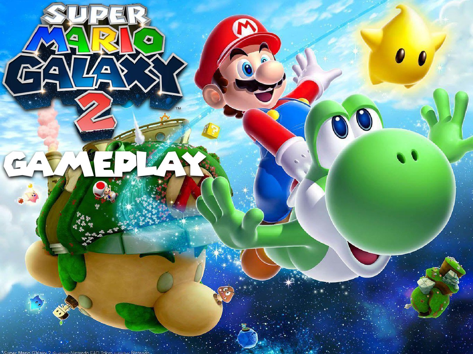 Amazon.com: Clip: Super Mario Galaxy 2 Gameplay: Michael Cottrell ...