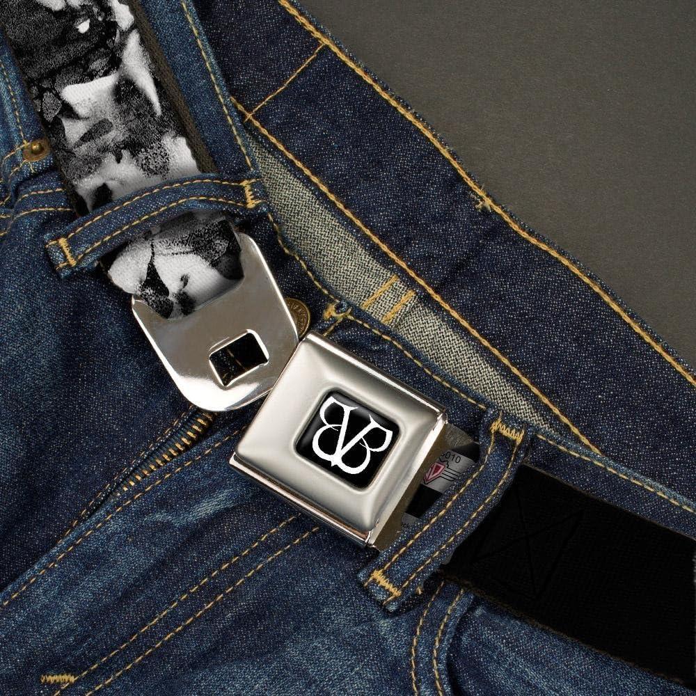 Buckle-Down Seatbelt Belt Black Veil Brides XL