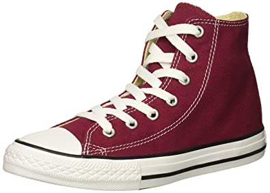 49170ccb749 Converse Girls  Chuck Taylor All Star 2018 Seasonal High Top Sneaker Maroon  2 M US