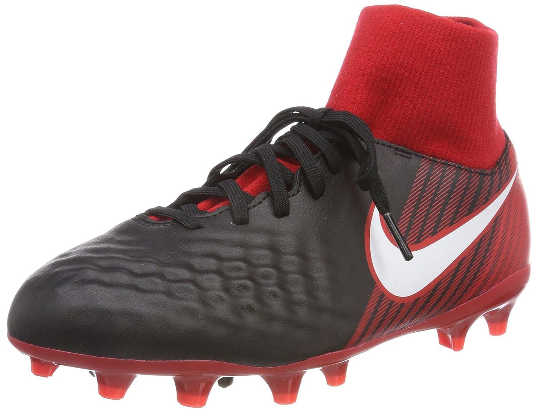 Nike Jr Magista Onda II DF FG, Botas de Fútbol Unisex Niños 36.5 EU|Schwarz (Schwarz/Wei-universitt Rot 061)