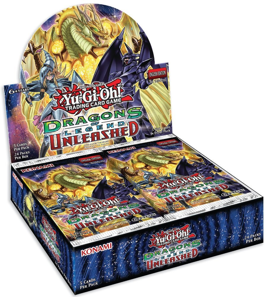 Yugioh Dragons of Legend Unleashed Hobby Box