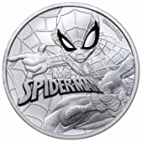 2017 TV Spider-Man 1 oz Silver Marvel Series Coin