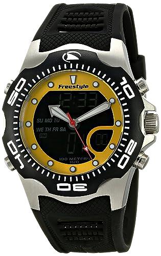 Freestyle Shark X 2.0 - Reloj Digital de Caballero de Cuarzo con Correa de Goma Negra