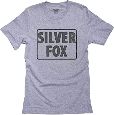 Silver Fox - Fun Sign Perfect for One with Experience Men's T-Shirt