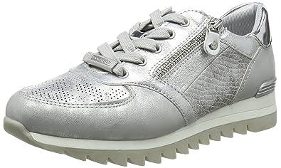 Dockers 42da203-680550, Sneakers Basses Femme, (Silber 550), 42 EU