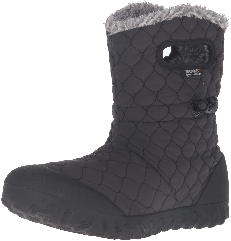 Bogs Women's B-Moc Quilt Puff Snow Boot B01BVGEJ1W 7 B(M) US|Black