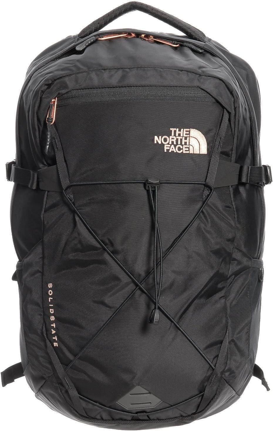 Amazon.com: The North Face Women's Solid State Laptop Backpack, Black/Rose  Gold: Computers & Accessories
