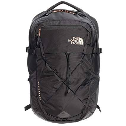 36976e0870 Amazon.com: The North Face Women's Solid State Laptop Backpack, Black/Rose  Gold: Computers & Accessories
