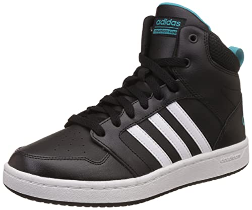 e981afe711a0 adidas neo Women s Cf Superhoops Mid W Cblack Ftwwht Eneblu Basketball  Shoes - 5 UK India (38 EU)  Buy Online at Low Prices in India - Amazon.in