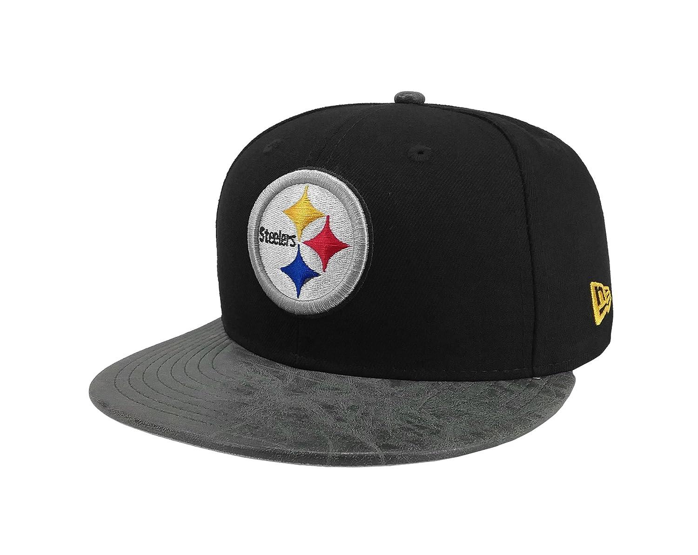 15e3ef9a Amazon.com: New Era 9Fifty Hat NFL Pittsburgh Steelers Rustic Vize ...