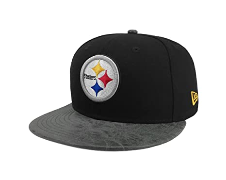 47a79bc2c441e Image Unavailable. Image not available for. Color  New Era 9Fifty Hat NFL  Pittsburgh Steelers Rustic Vize ...