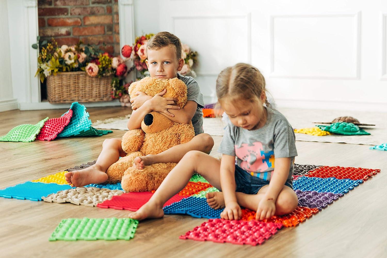 aquí tiene la última Alfombra ortopédica de masaje para para para el suelo del puzle, juego ecológico para la salud de los niños  a la venta