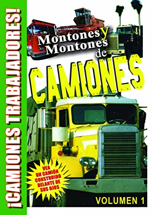 Lots and Lots of Trucks Vol. 1 DVD in Spanish for Kids - Montones Y