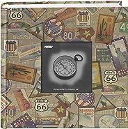 Pioneer DA-200MAP/TS - Álbum de Fotos de 200 Bolsillos con diseño de Viaje Impreso, Pegatinas de Viaje