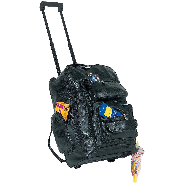 Amazon.com: Embassy Genuine Leather Backpack / Cart: Everything Else