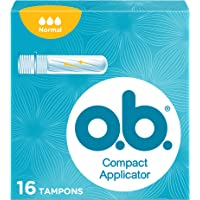 o.b.® ProComfort® Compact Applicator Normal tampons met applicator voor discreet en eenvoudig inbrengen en betrouwbare…