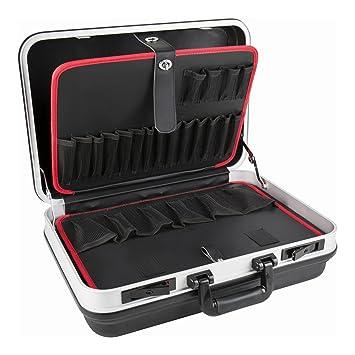 Fabulous STIER Werkzeugkoffer Basic leer, ABS-Kunststoff Kofferschale GW84