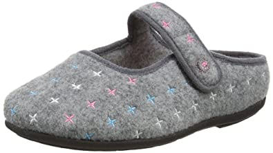 1828639c2d75 Padders Women s s Heidi Open Back Slippers  Amazon.co.uk  Shoes   Bags