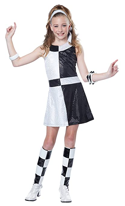 California Costumes 60's Mod Chic Tween Costume