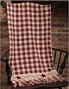 Stars and Berries Country Throw