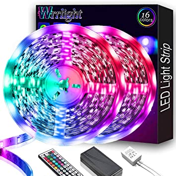 Improvement Pull LED Lights 6 pack Indoor Outdoor Use Remote Multi Color NEW