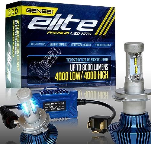 GENSSI Elite LED Headlight Bulbs Kit