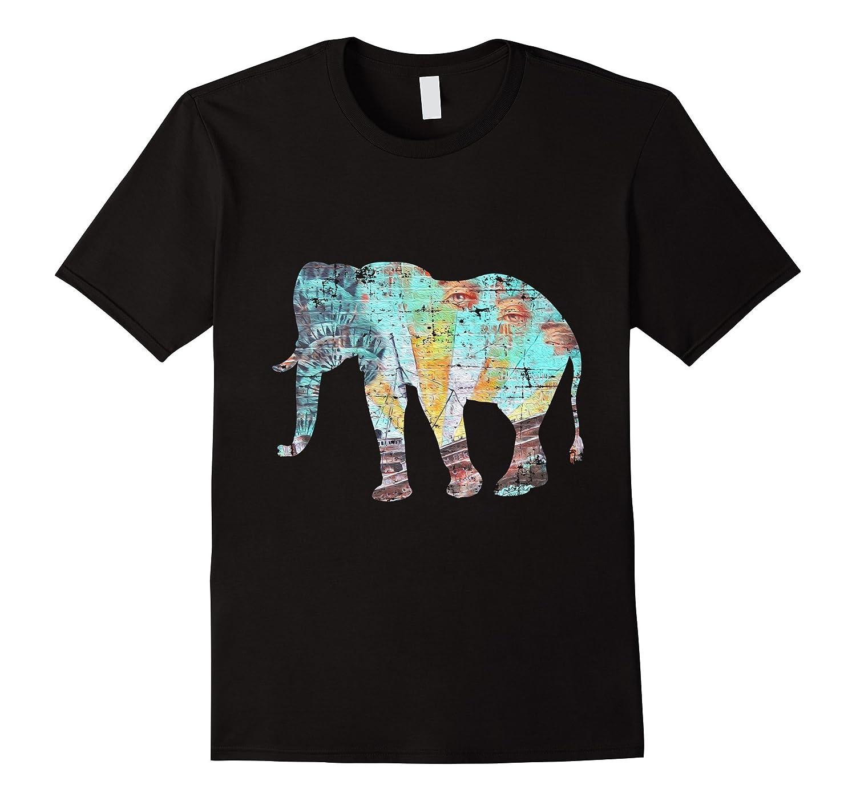 BE KIND KINDNESS ALWAYS PEACE HOPE ELEPHANT T SHIRT-FL