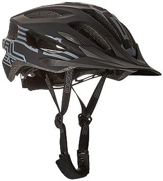 Oneal Q RL Casco Bicicleta, Negro, XS/S/M