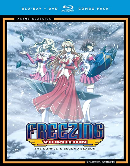 FREEZING VIBRATIONSEASON TWO ANIME