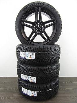 4 ruedas de invierno de 18 pulgadas para Mercedes-Benz C W205 E W213 RDKS RIAL M10 MICHELIN: Amazon.es: Coche y moto