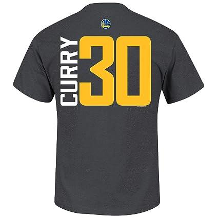 a4033d00677 Stephen Curry Golden State Warriors  30 NBA Men s Vertical Name   Number T- Shirt