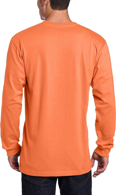 Carhartt Mens K126 Long Sleeve Workwear Crewneck T-Shirt