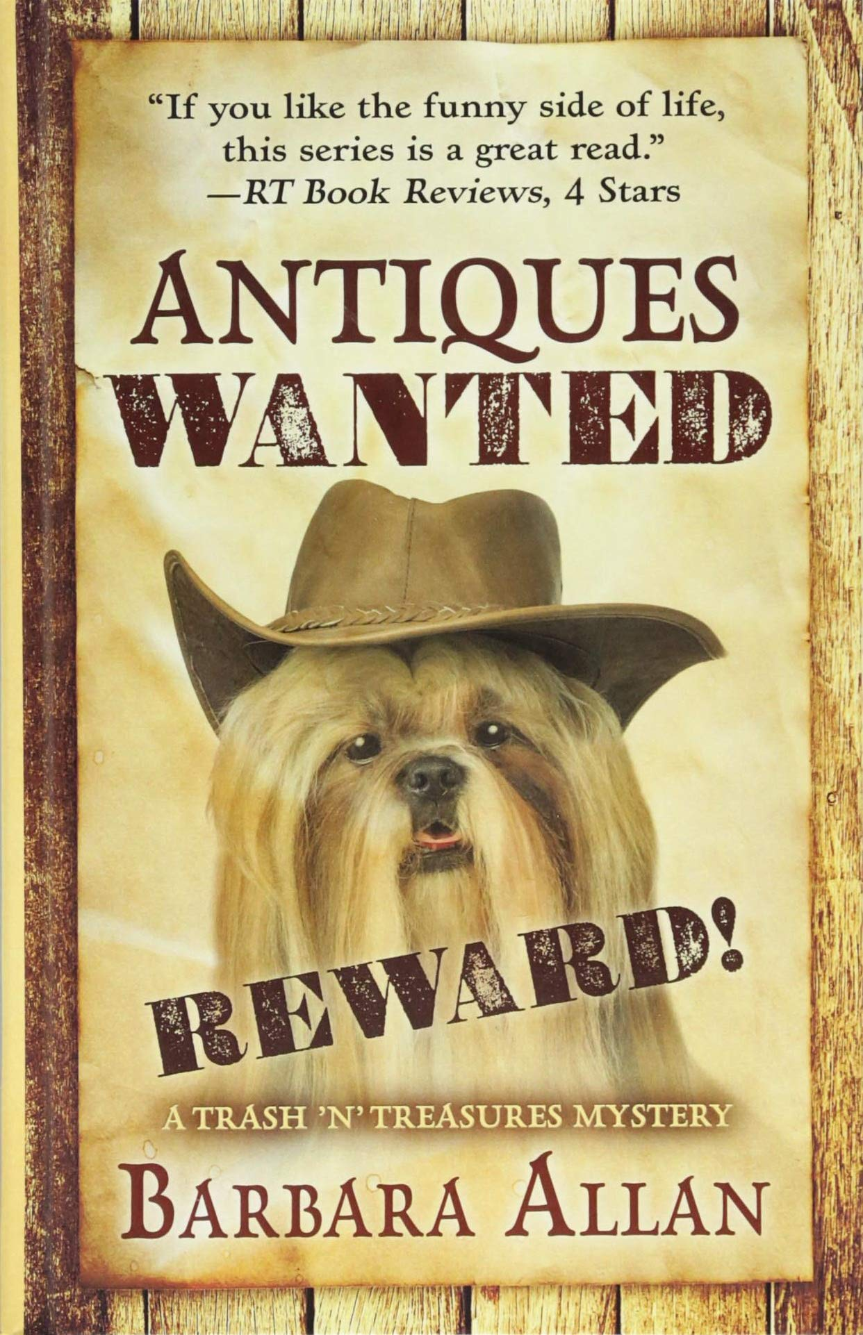 Download Antiques Wanted (A Trash 'n' Treasures Mystery) pdf