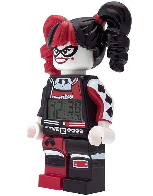 LEGO Batman Movie 9009310 Harley Quinn Kids Minifigure Alarm Clock ...