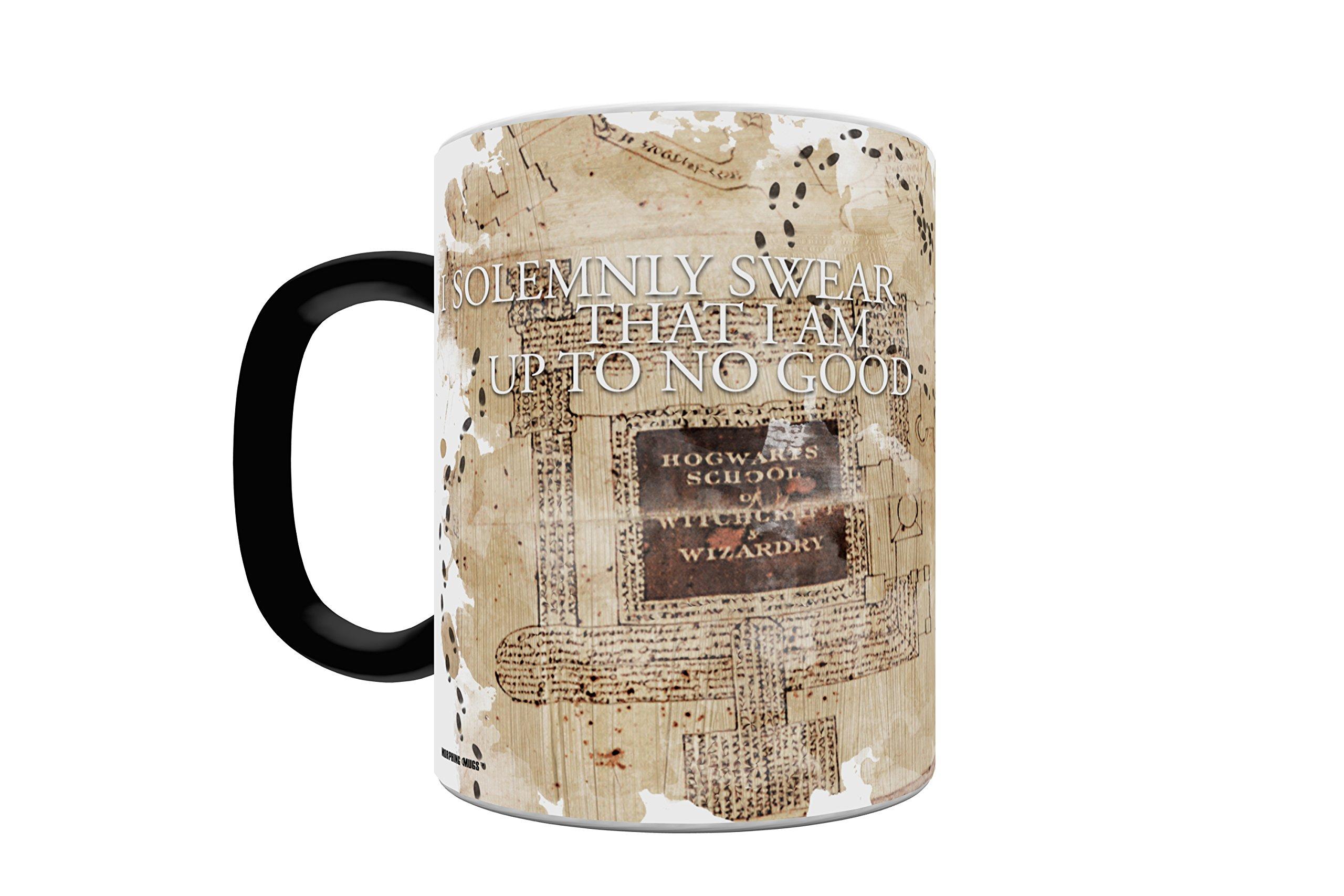 Morphing Mugs Harry Potter Hogwarts Marauders Map Heat Reveal Ceramic Coffee Mug - 11 Ounces by Morphing Mugs (Image #3)