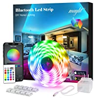 Deals on Maylit 16.4ft Led Strip Lights with Remote