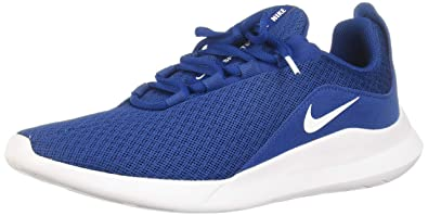 brand new 644bc 9254b NIKE Viale, Chaussures de Running Compétition Homme, Multicolore (Gym  Blue White 400