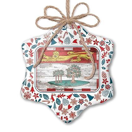 Prince Christmas Decorations.Amazon Com Neonblond Christmas Ornament Flag On Wood Prince