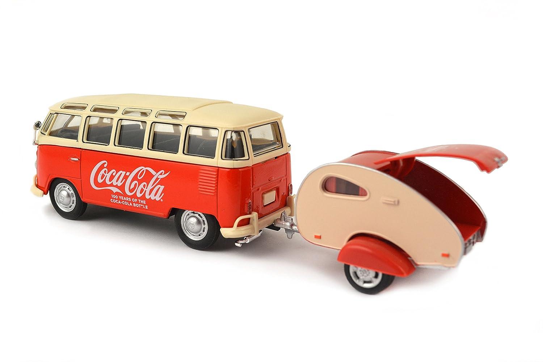 Ciudad del Motor - 467 433 - Volkswagen Samba RV - Coca-Cola 1962 - Escala 1/43: Amazon.es: Juguetes y juegos