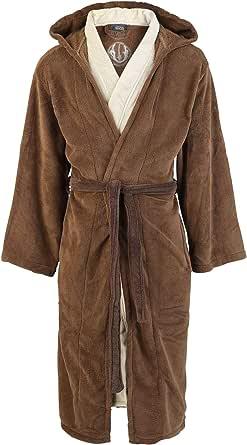 Jedi (Star Wars) Bath Robe - One Size, Brown-beige,