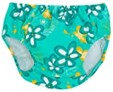 Tuga Girls Reusable Swim Diaper, Seafoam, 3T
