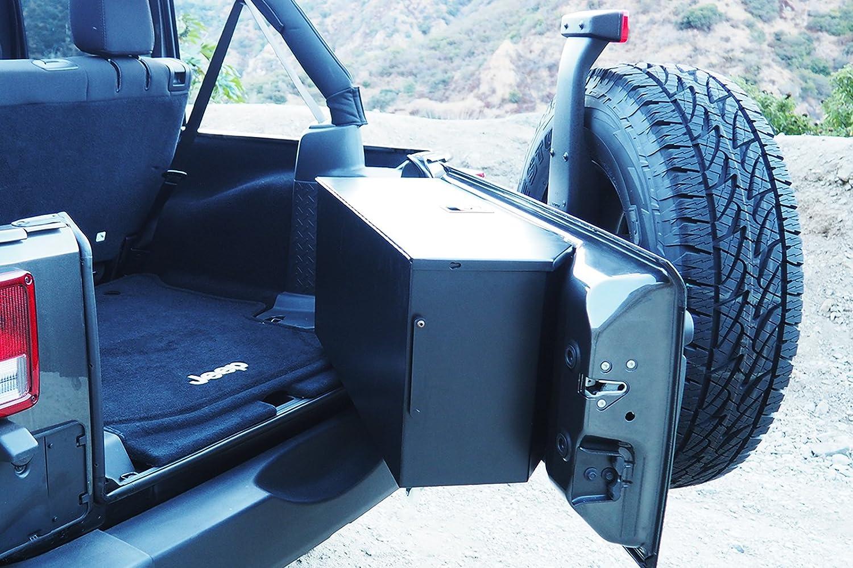 Amazon.com: Carrichs Tailgate Storage Box for 2007-2017 Jeep ...