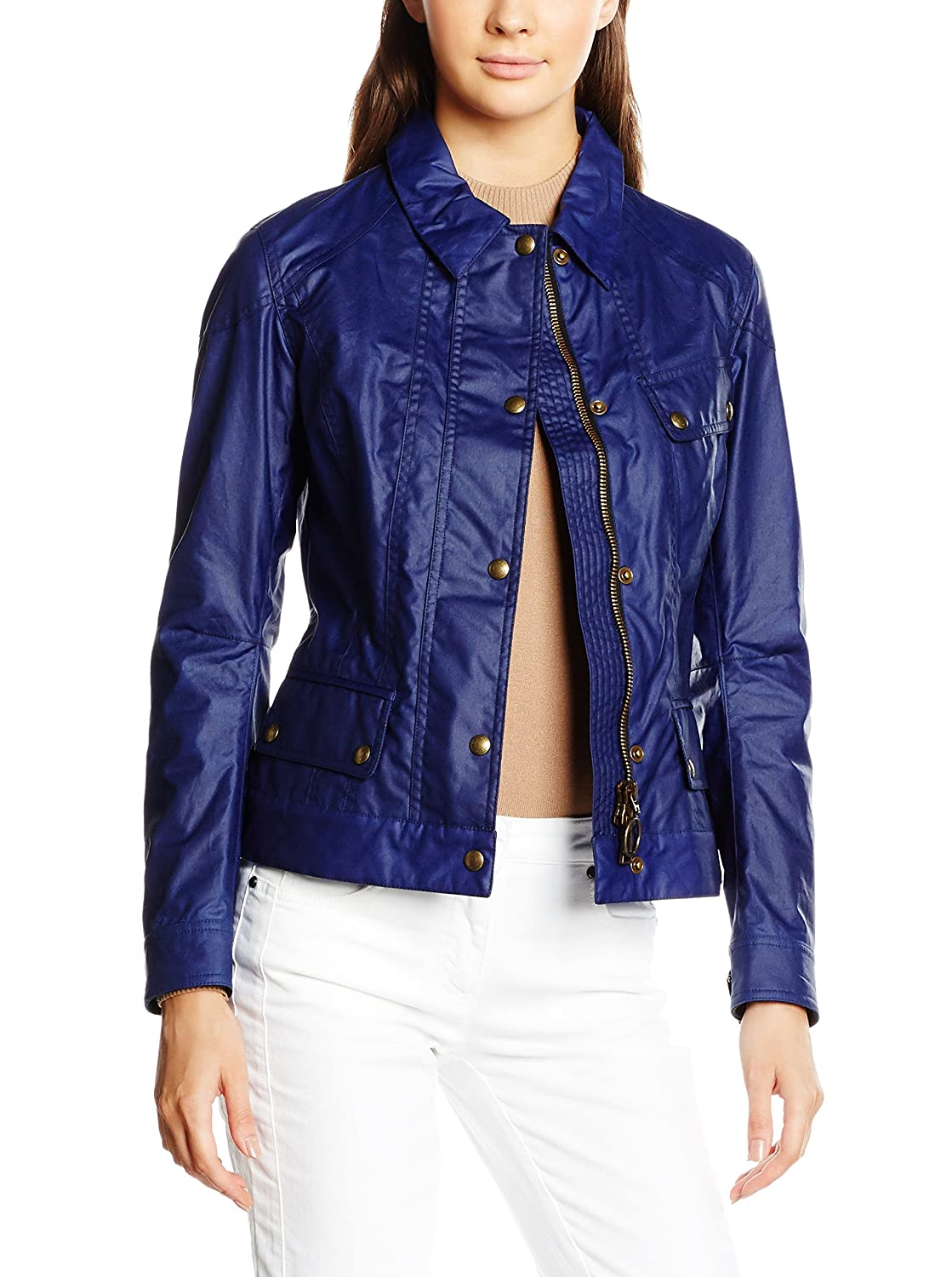 Belstaff Chaqueta Colby Azul ES 42 (IT 46): Amazon.es: Ropa ...