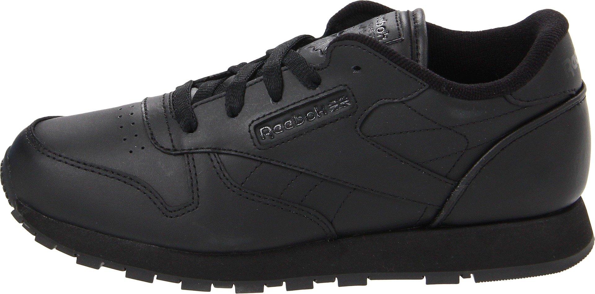 Reebok Classic Leather Shoe,Black/Black/Black,11.5 M US Little Kid by Reebok (Image #5)