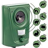 Outdoor/Indoor Sonic Ultrasonic Cat/Pest/Deer/Dog/Pigeon/Fox Repellent, Repeller and Deterrent (Batteries Included)